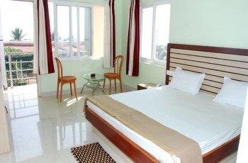Balcony sea view ac room